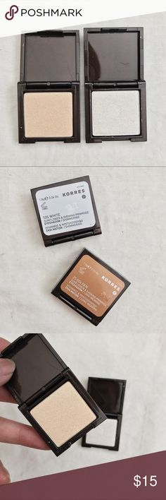 Korres Eyeshadow Bundle • brand: korres  • condition: new  • description: set of 2 korres eyeshadows, shades as pictured.    • trying to downsize my closet! bundle to save 💰 + happy shopping! Korres Makeup Eyeshadow