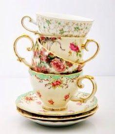 Adorables tazas de té