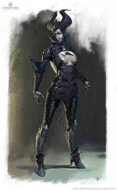 Mortal Kombat X - Dark Empress Kitana on Behance