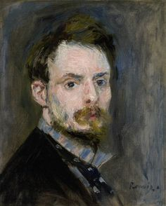 Renoir, self-portrait