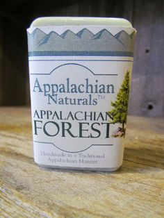 Shopping for Dad? Appalachian Naturals - Appalachian Forest Natural Soap, $5.95 (http://www.appalachiannaturalsoap.com/appalachian-forest/)