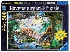 Tiere am Wasserloch | Erwachsenenpuzzle | Puzzles | Shop | Tiere am Wasserloch