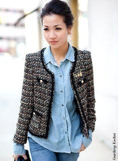 Gardrop Kedisi: Trend: Tweet ceketler