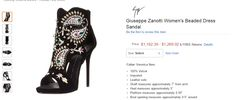 Clothing, Furniture and Accessories: Beaded Dress Sandal