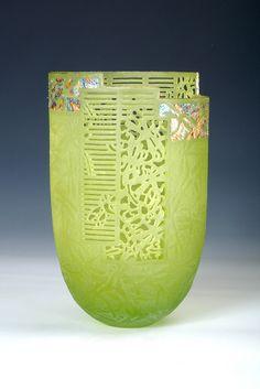 Binh Pho   'Glass Wings' Cast glass, gold leaf, 22K