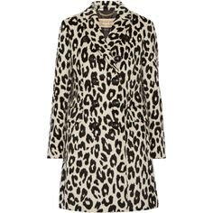 Burberry LondonPlaistow Leopard-print Llama Hair And Wool-blend Trench... (€3.295) ❤ liked on Polyvore featuring outerwear, coats, leopard print, double breasted coat, leopard print coat, wool blend trench coat, burberry coat and wool blend double breasted coat