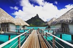 Elegant and modern interiors feature throughout the resorts variety of beach and overwater bungalow and villa accommodation winning it TripAdvisors Certificate of Excellence in 2014. #BoraBora #BoraBoraadventure #traveltheworld  #exotictravel #secludedlocations #travelinstyle  #worldbeauty #luxuryhotel #trendyhotels #borabora
