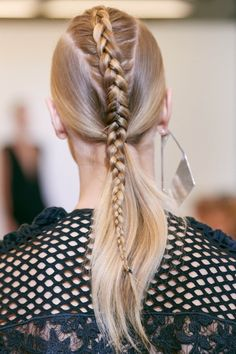 A braid mohawk is the coolest way to turn a bad hair day into the best hair day