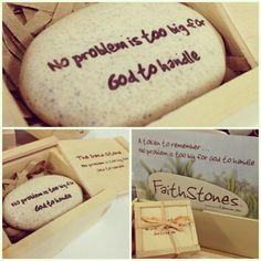 Faith Stones #prayer #praisethelord #picoftheday #church #christian #christianity #truth #meditation #cute #cherish #gift #vivalife / http://www.contactchristians.com/faith-stones-remind-us-of-how-big-gods-love-is-for-us-get-yours-or-give-one-to-a-friend-at-viva-life-faith-stones-god-glory-jesus-jesuschrist-love-like-lord-friend-savior-amen-verse/