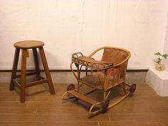 Pannier Basket 雰囲気のある古いゆりかごベビーカーアンティークチェア インテリア 雑貨 家具 Antique ¥12000yen 〆06月10日