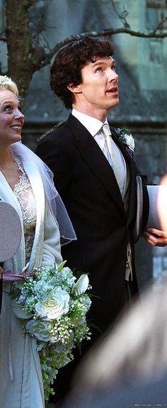 Amanda Abbington & Benedict Cumberbatch