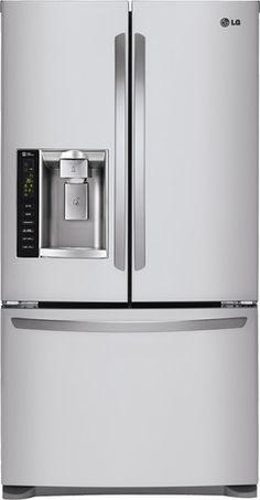 Ft. Counter Depth French Door Refrigerator With Thru The Door Ice And Water    Stainless Steel (Silver) | French Door Refrigerator, Counter Depth U2026