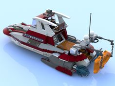 LEGO Ideas - Captain Daniel's Cabin Cruiser With Jet Engine