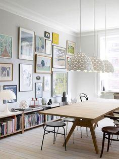 Awesome Scandinavian kitchen Decorating Ideas Remodel - Home Decor Art Deco, Scandinavian Kitchen, Scandinavian Design, Swedish Interior Design, Living Spaces, Living Room, Dining Room Design, Contemporary Interior, Interiores Design
