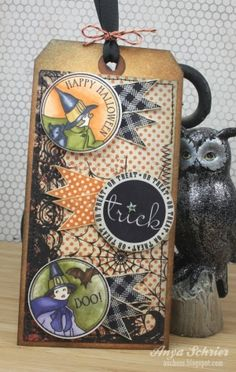 Cute halloween tag by shelby