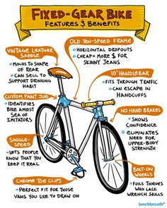 If you have never figured out why anyone would ride a fixed gear bike. It ...