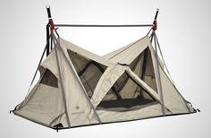 「空中キャンプ」の道具が続々。新発売のツリーテント注目モデル3種
