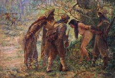 ANTÔNIO PARREIRAS - Os invasores Óleo sobre tela - 194 x 281 - 1936