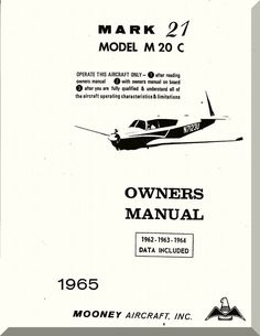 740 best owners manual images on pinterest messages positive mooney m20 c aircraft owner manual 1965 fandeluxe Images
