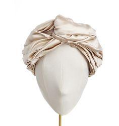 Draped Silk Full Turban