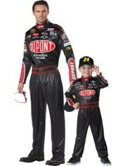 Jeff Gordon NASCAR Daddy and Me Costumes