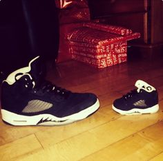 Niall and Theo's shoes!!! Niall is getting Greg, Denise, and Theo front row VIP tickets to the Dublin concert!!