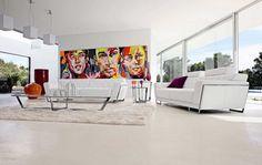 Living Room Inspiration: 120 Modern Sofas by Roche Bobois (Part 2/3)