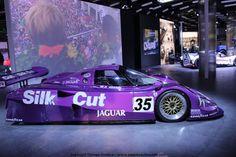jaguar xjr 12 silk cut 24h du mans 1991 au SALON DE GENEVE 2014