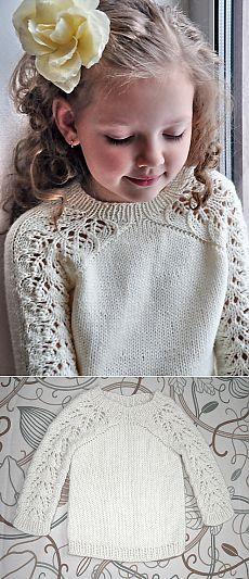 Stricken Baby :Ravelry: Bloomsbury kids pattern by Svetlana Volkova , Knitting For Kids, Knitting Projects, Baby Knitting, Crochet Projects, Knitting Patterns, Sweater Patterns, Knitting Ideas, Knit Or Crochet, Crochet Dresses