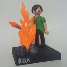 Rox, la chica de fuego!! Facebook/JackClirkProject Jack.clirk@gmx.de