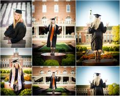 Stillwater Oklahoma Oklahoma State University Senior Portrait Photographer | College Seniors | Girl Senior Portrait Poses | Cap and Gown | Captured By Karly
