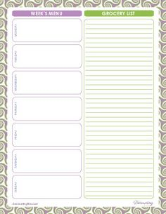 Free Printables from The Decorating Files