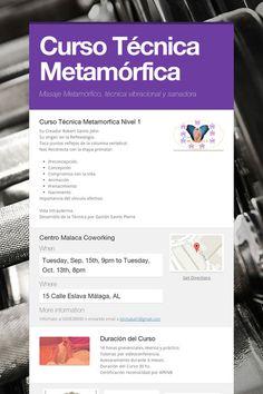 Help spread the word about Curso Técnica Metamórfica. Please share! :)