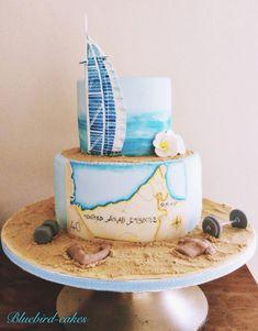 Dubai themed cake - Cake by Zoe Smith Bluebird-cakes