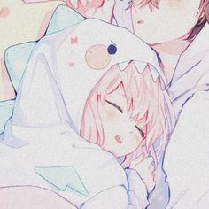 Anime Couples Drawings, Anime Couples Manga, Cute Anime Couples, Kawaii Anime Girl, Anime Art Girl, Anime Chibi, Manga Anime, Cute Couple Wallpaper, Cute Anime Girl Wallpaper