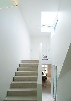 Image 8 of 16 from gallery of Store Lauvøya - Bestemorstua / Mikado Arkitektur. Interior Architecture, Stairs, Gallery, Houses, Home Decor, Modern, Architecture Interior Design, Homes, Stairway