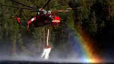 As a hot wind shifted north and drove the flames toward Onyx Peak east of Big Bear Lake, fire crews deployed to save homes scattered among brittle-dry pines — waiting for help from a DC-10 laden with 10,800 gallons of retardant.