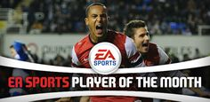 Walcott is EA SPORTS Player of the month