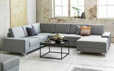 Sjeselong høyre,  Adria tekstil, Grå 389 Couch, Furniture, Home Decor, Houses, Homemade Home Decor, Sofa, Couches, Home Furnishings, Sofas