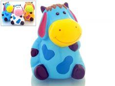 Hucha Infantil vaca sentada de ceramica para detalle regalo niños y niñas #Grandetalles