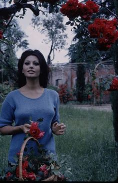 Sophia Loren and Villa