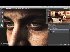 ▶ How to Color, Brighten and Sharpen Eyes in Photoshop! - YouTube