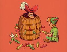 Süß und gemein in einm   Illustrationen von Ben Chan