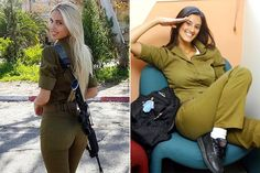 """24. Israel The Israeli military may have one of the hottest armed forces in the world. There is even an Instagram account called """"Hot Israeli Army Girls"""" that is a collection of attractive female soldiers posing in uniform and their guns. Currently, there are more than 35,000 followers. These women must take gun care andRead More"""
