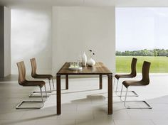 20 Minimalist Dining Rooms Sets with White Dining Chairs
