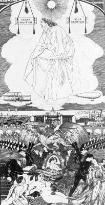 Boccioni, Beata Solitudo, 1908