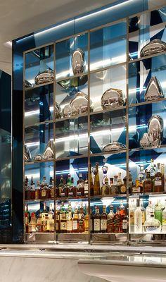 Back Bar Shelving Studio Munge | LAGO by Julian Serrano