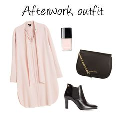 """""""Afterwork outfit"""" by gunnarssonigenarp on Polyvore featuring MICHAEL Michael Kors and Chanel"""