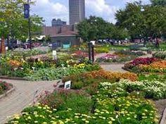 AAS Display Garden Erie Basin Marina Park in Buffalo, NY