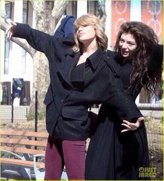 Taylor and Lorde in nyc